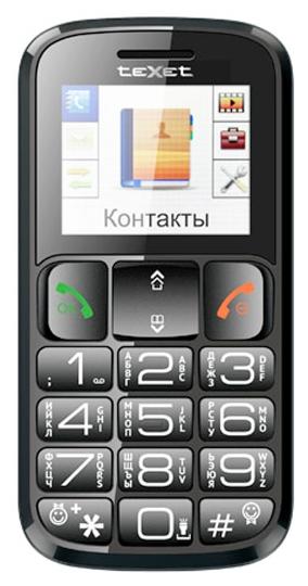 Сотовый телефон Texet
