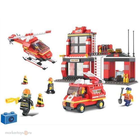 Конструктор SLUBAN 38-0225 Пожарная служба