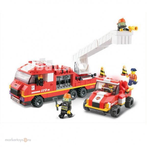 Конструктор SLUBAN 38-0223 Пожарная