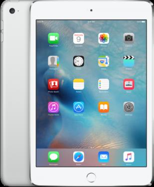 Фото Планшет Apple iPad mini 4 Wi-Fi + Cellular 64GB - Silver (MK732RU/A)