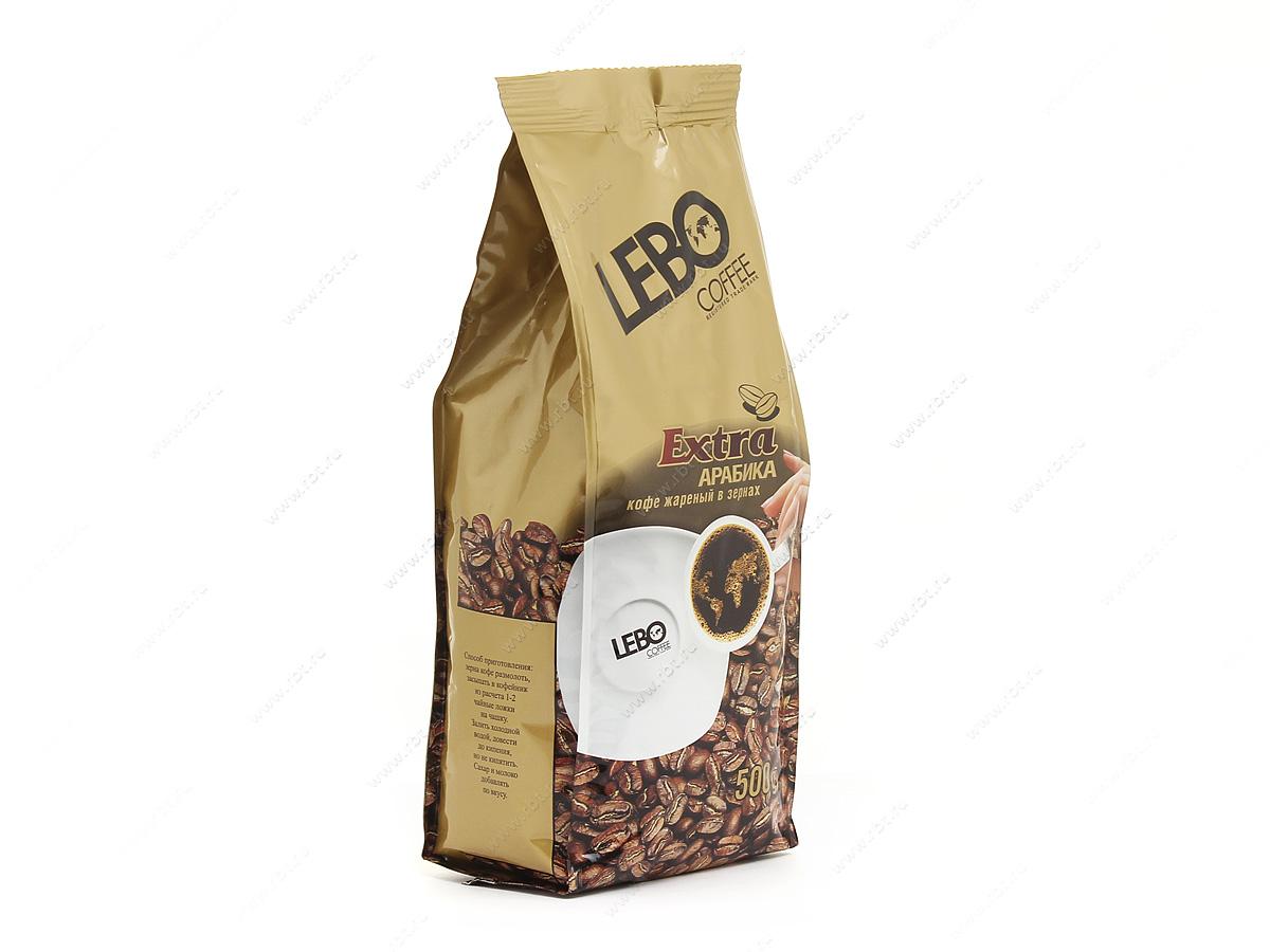Кофе в зернах Lebo