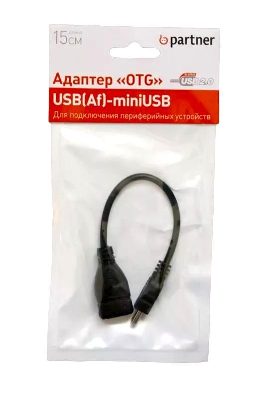 Фото USB Кабель Partner USB Host-mini USB