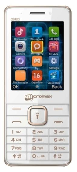 Сотовый телефон Micromax