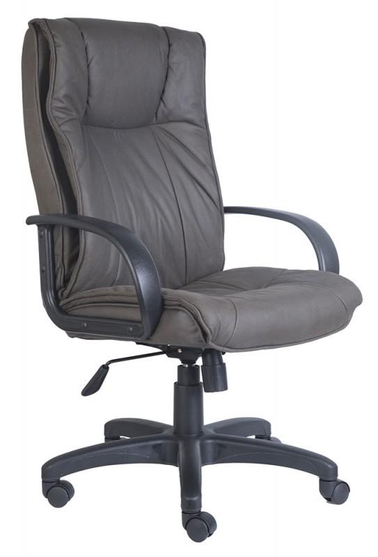 Кресло Бюрократ Кресло руководителя бюрократ ch-838axsn/f4 темно-серый f4 нубук