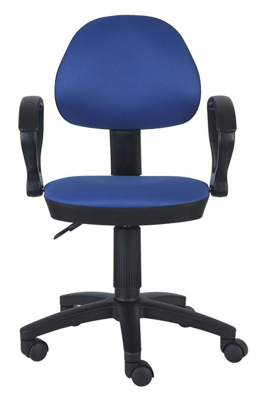 Кресло Бюрократ Кресло бюрократ ch-318axn/15-10 темно-синий 15-10