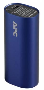 Портативный аккумулятор APC PowerPack M3BL-EC Li-Pol 3000mAh 1A голубой