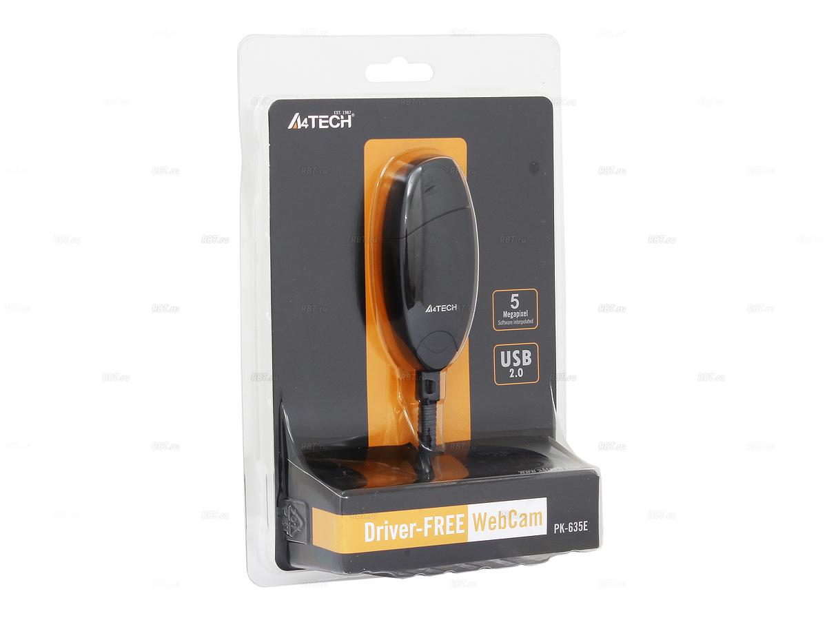 Фото Веб-камера A4Tech PK-635E USB 2.0