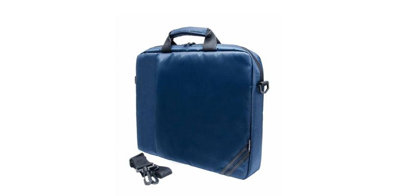 "Кейс для ноутбука PC PET PCP-1004BL 15.6"" Nylon Style Toplader Front compartment Side Stripes Темно синий"