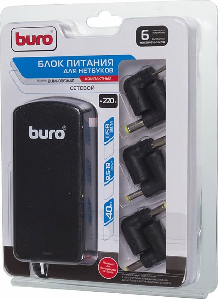 Сетевой адаптер для ноутбука Buro