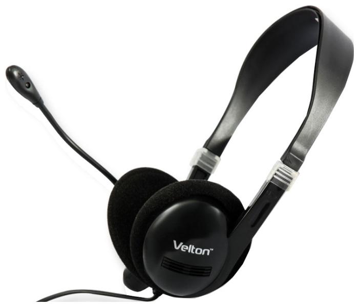 Наушники с микрофоном проводные Velton