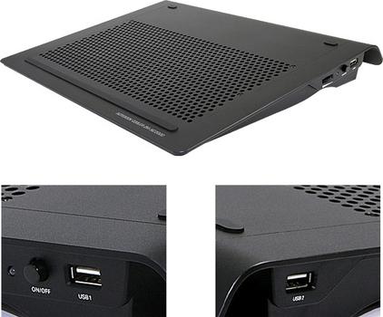 Подставка для ноутбука ZALMAN ZM-NC2000NT black