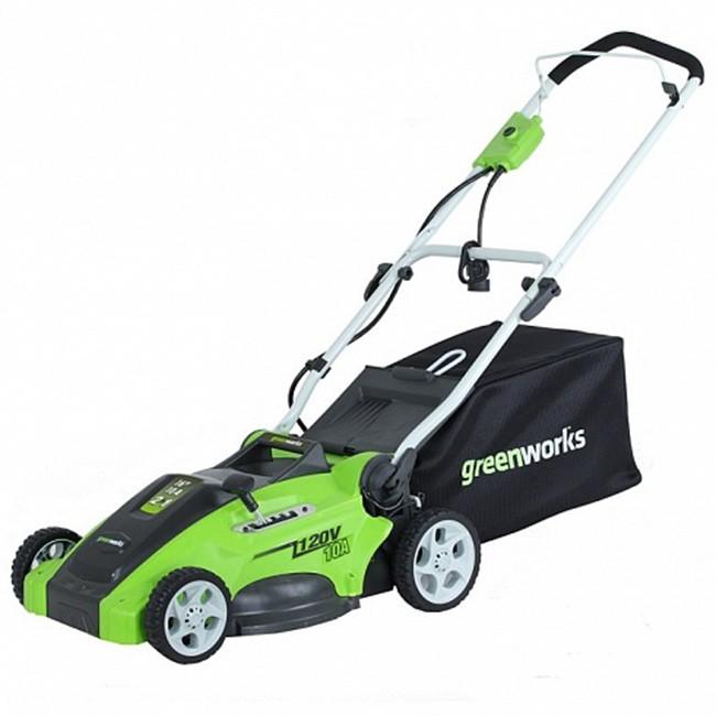Газонокосилка Greenworks