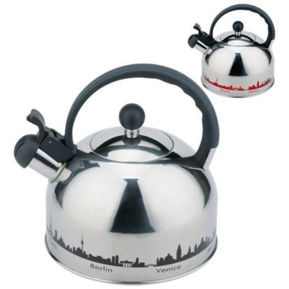 чайник металлический Mallony
