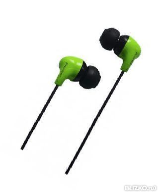 Наушники вкладыши Fischer Audio Sempai SPE 21 зеленый
