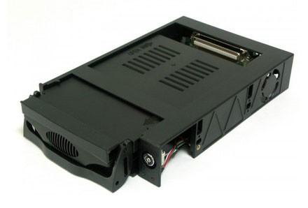 Корпус для жесткого диска AgeStar Сменный бокс для HDD MR3-SATA (k)-F SATA пластик черный
