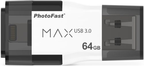 Флеш-диск PhotoFast 64GB i-FlashDrive MAX G2 U3 (IFDMAXG264GB)