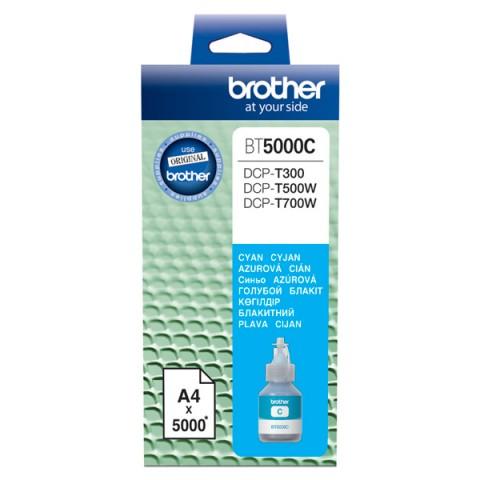 Картридж струйный Brother BT5000C голубой (5000стр.)