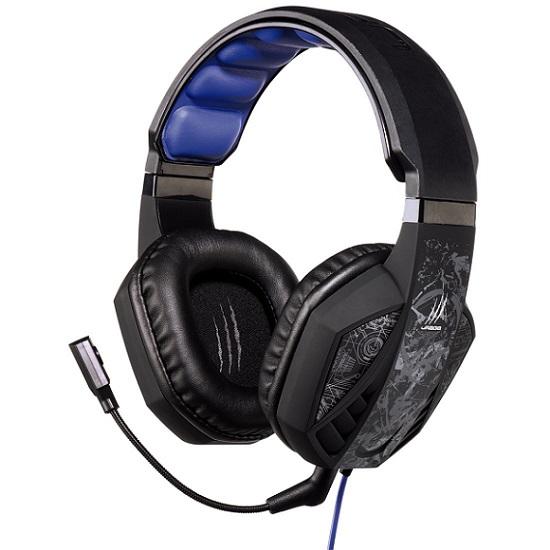 Игровые наушники проводные Hama uRage SoundZ черный 2.5м
