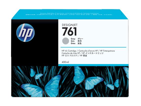 Картридж струйный HP 761 CM995A серый для HP DJ T7100 (400мл)