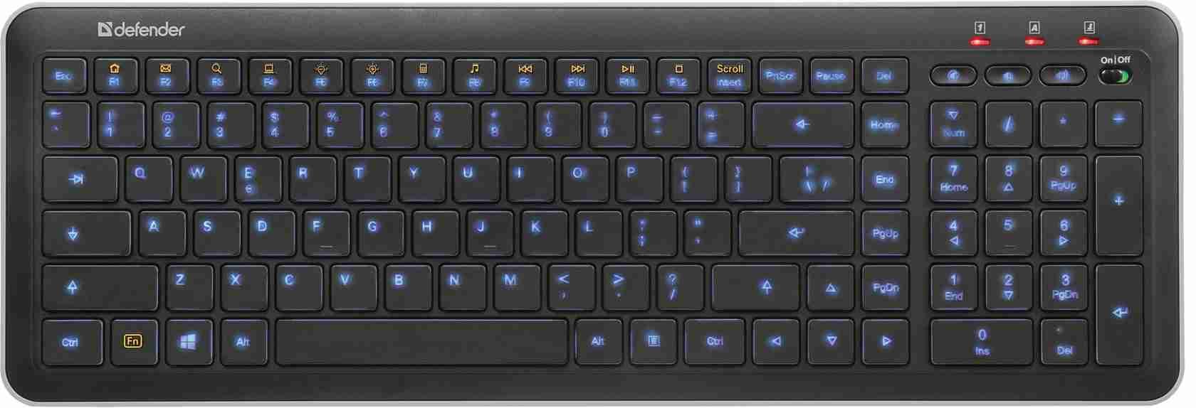 Клавиатура проводная Defender