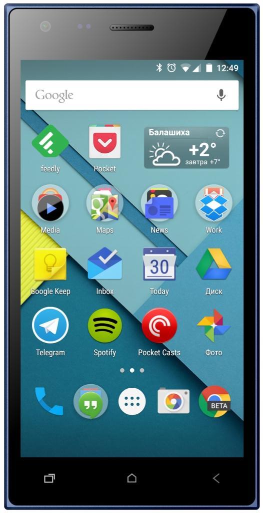 Смартфон Micromax Q413 Canvas Xpress 4G Blue