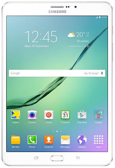 Фото Планшет Samsung Galaxy Tab S2 8.0 /SM-T719NZWESER/ LTE 32Gb White