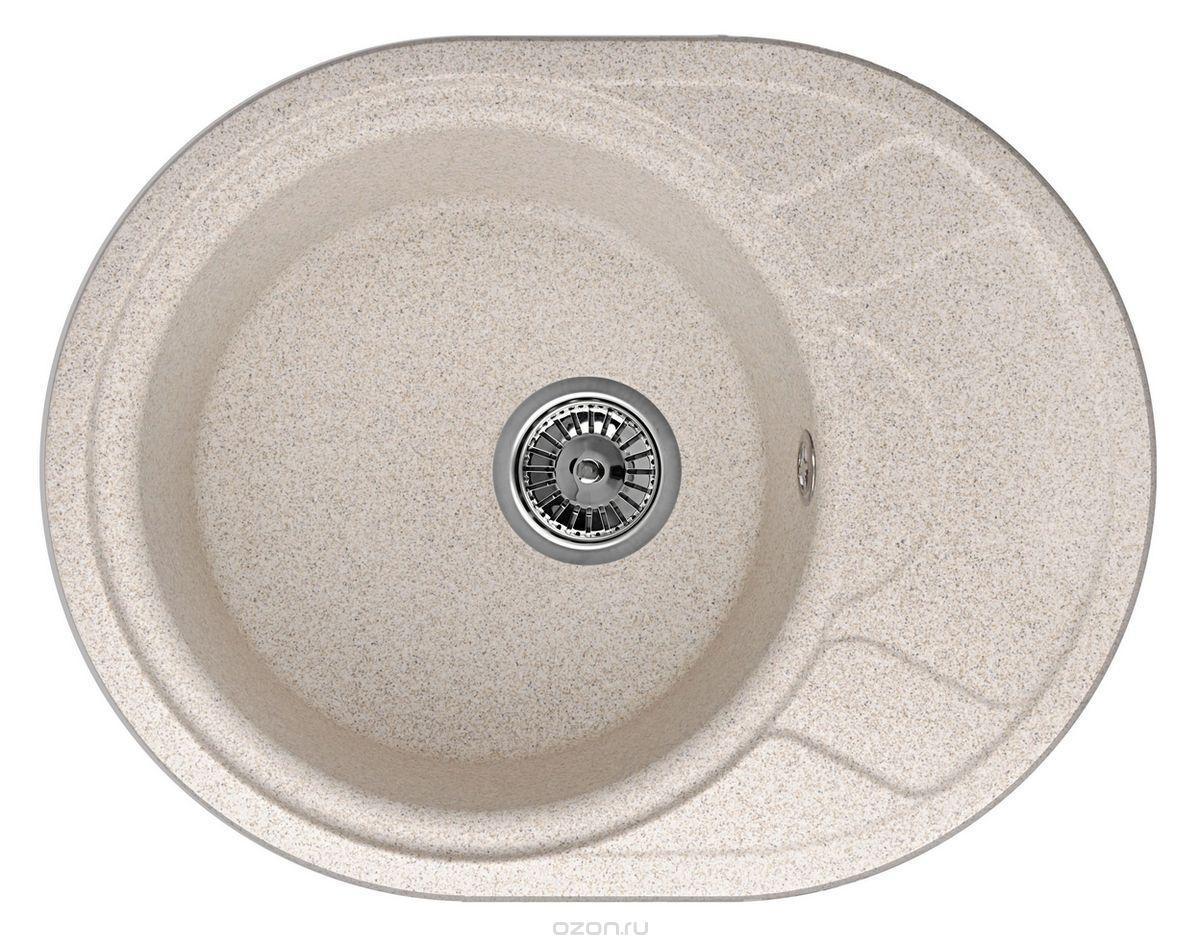 Фото Кухонная мойка Weissgauff ASCOT 575 Eco Granit песочный