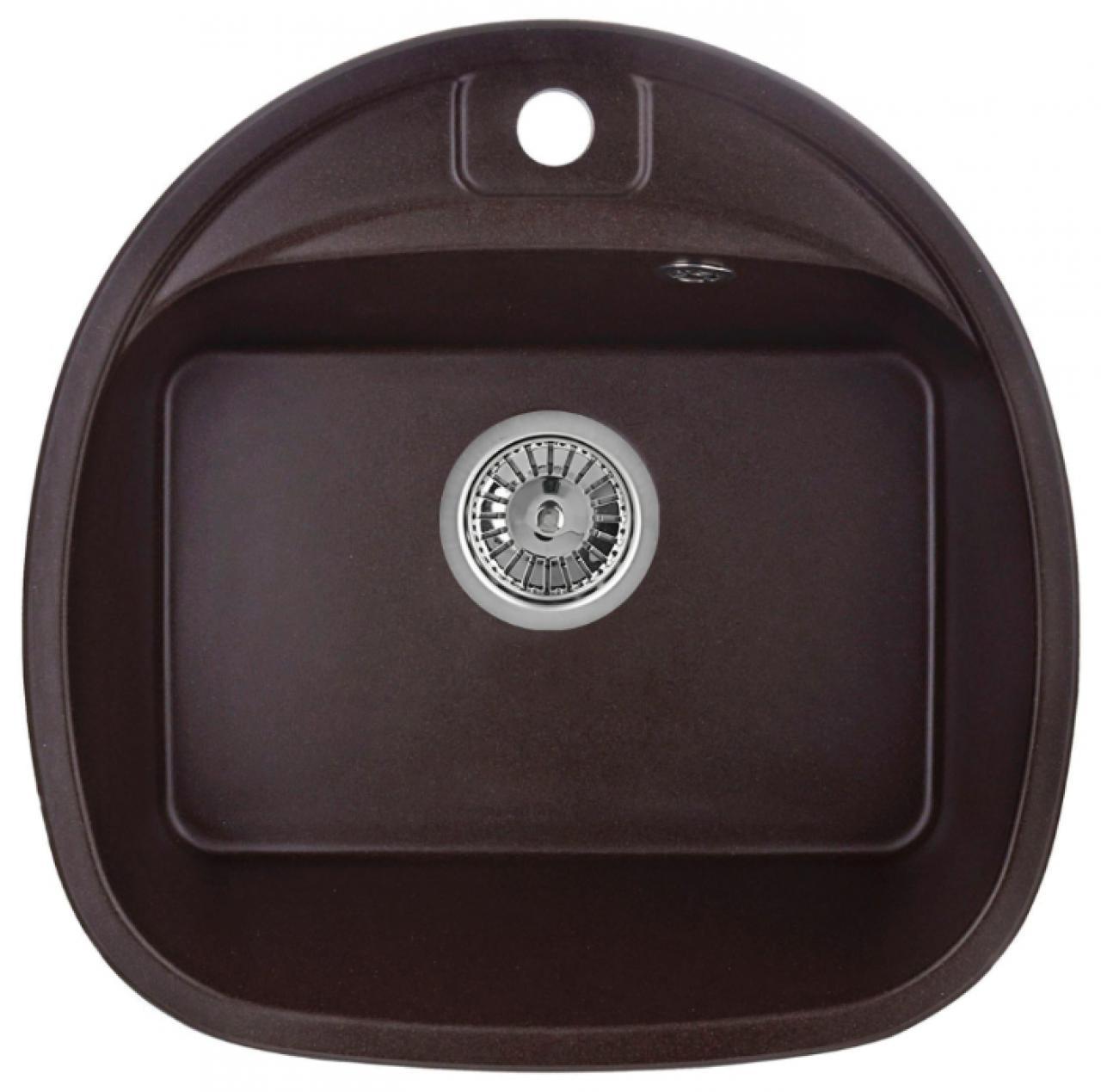 Кухонная мойка Weissgauff SOFTLINE 500 Eco Granit шоколад
