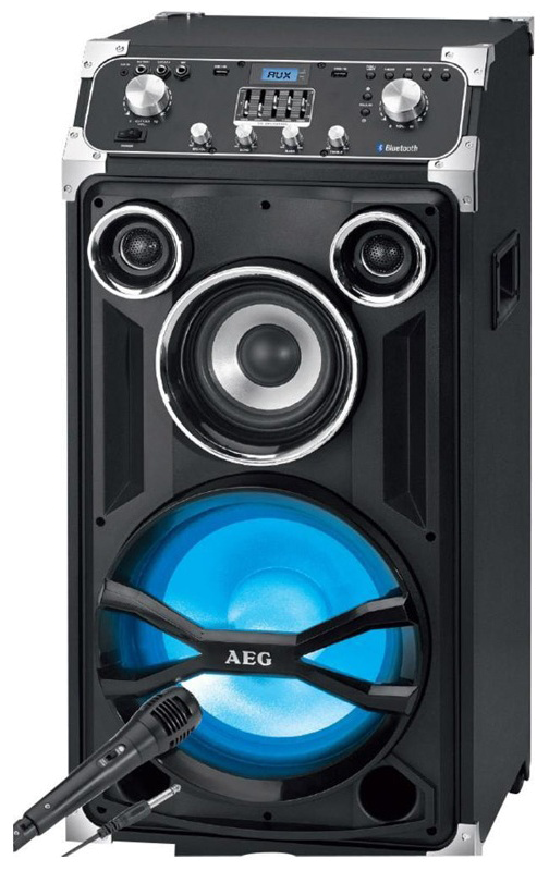 Радиоприемник AEG EC 4834 schwarz Trolley