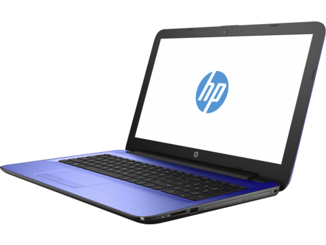 Фото Ноутбук HP 15-ba504UR /X5D88EA/ AMD E2 7110/4Gb/500Gb/15.6/WiFi/Win10 (Blue)