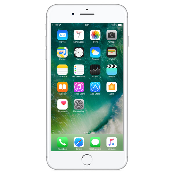 Смартфон Apple iPhone 7+ 256GB Silver MN4X2RU/A