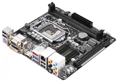 Фото Материнская плата Asrock H81M-ITX Soc-1150 Intel H81 mini-ITX AC`97 8ch(7.1)