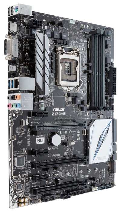 Asus Z170-E Soc-1151 Intel Z170 4xDDR4 ATX AC`97 8ch(7.1)