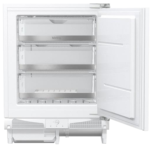 Встраиваемый холодильник Korting