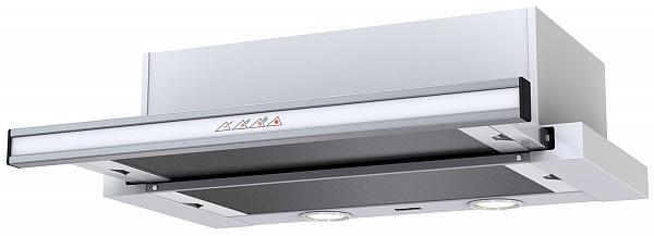 Вытяжка KRONA Kamilla sensor 600 white glass (2 мотора)