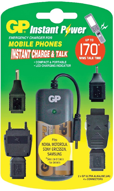 Зарядка для телефона от батареек