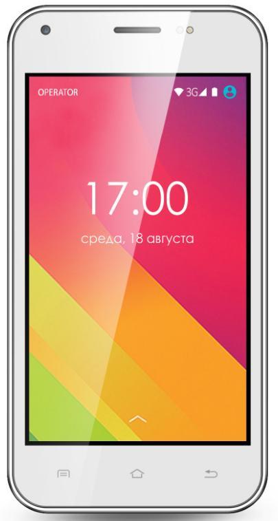Смартфон Ginzzu S4020 White
