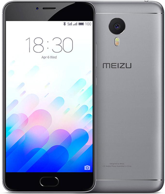 Смартфон Meizu M3 Note 16Gb Gray