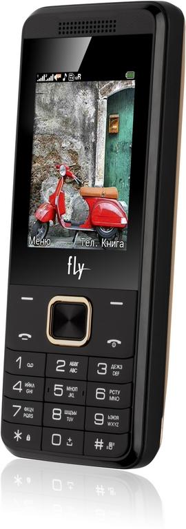 Сотовый телефон Fly FF245 Champagne
