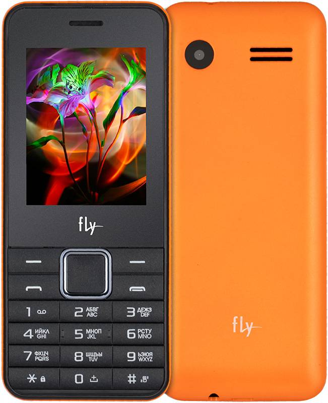 Сотовый телефон Fly FF246 Orange