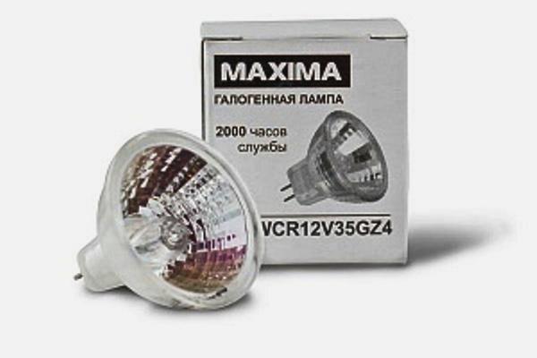Лампочки галогеновые Maxima