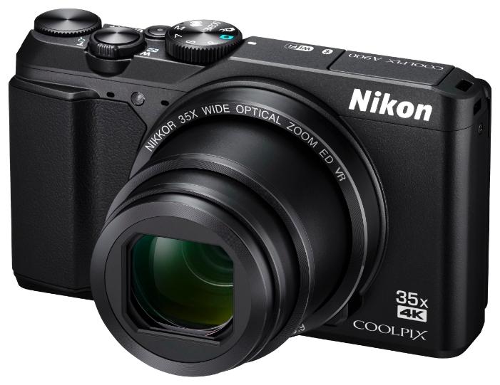 Фотоаппарат компактный Nikon Coolpix A900 black