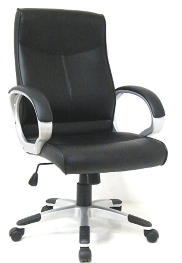 EXCOMP BY-6531 Кресло/кожзам/черный