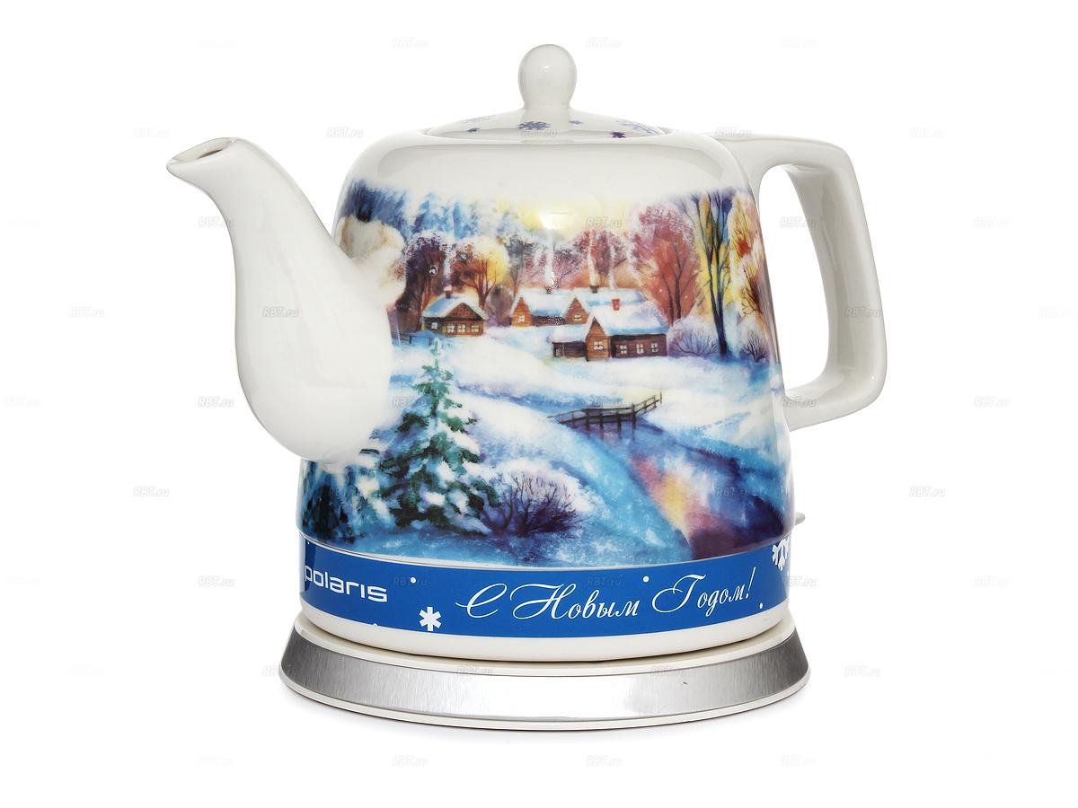 Чайник электрический  POLARIS PWK 1299CCR Северный край