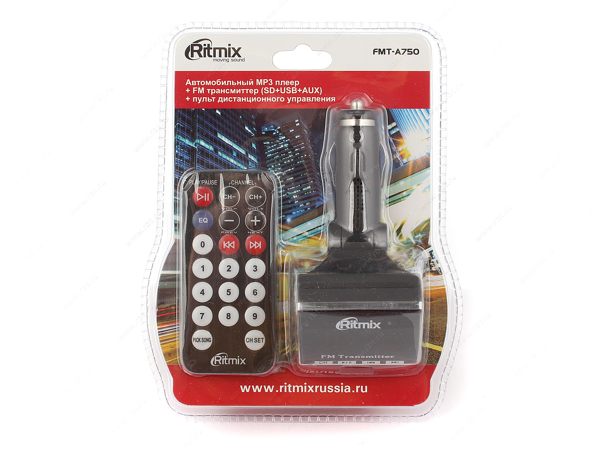 FM Трансмиттер Ritmix
