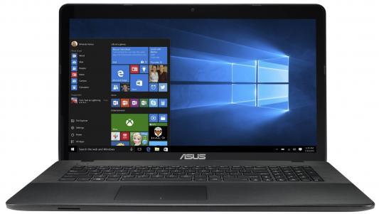 Ноутбук ASUS X751SA-TY165T /90NB07M1-M03120/ intel N3700/4Gb/500Gb/DVDRW/17.3HD+/WiFi/Win10