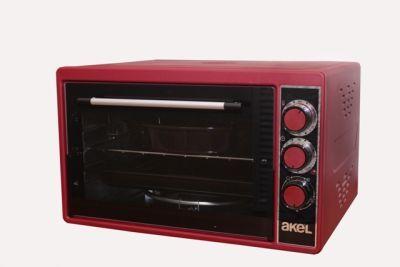 Электрическая мини-печь AKEL AF-381 красный 40л.