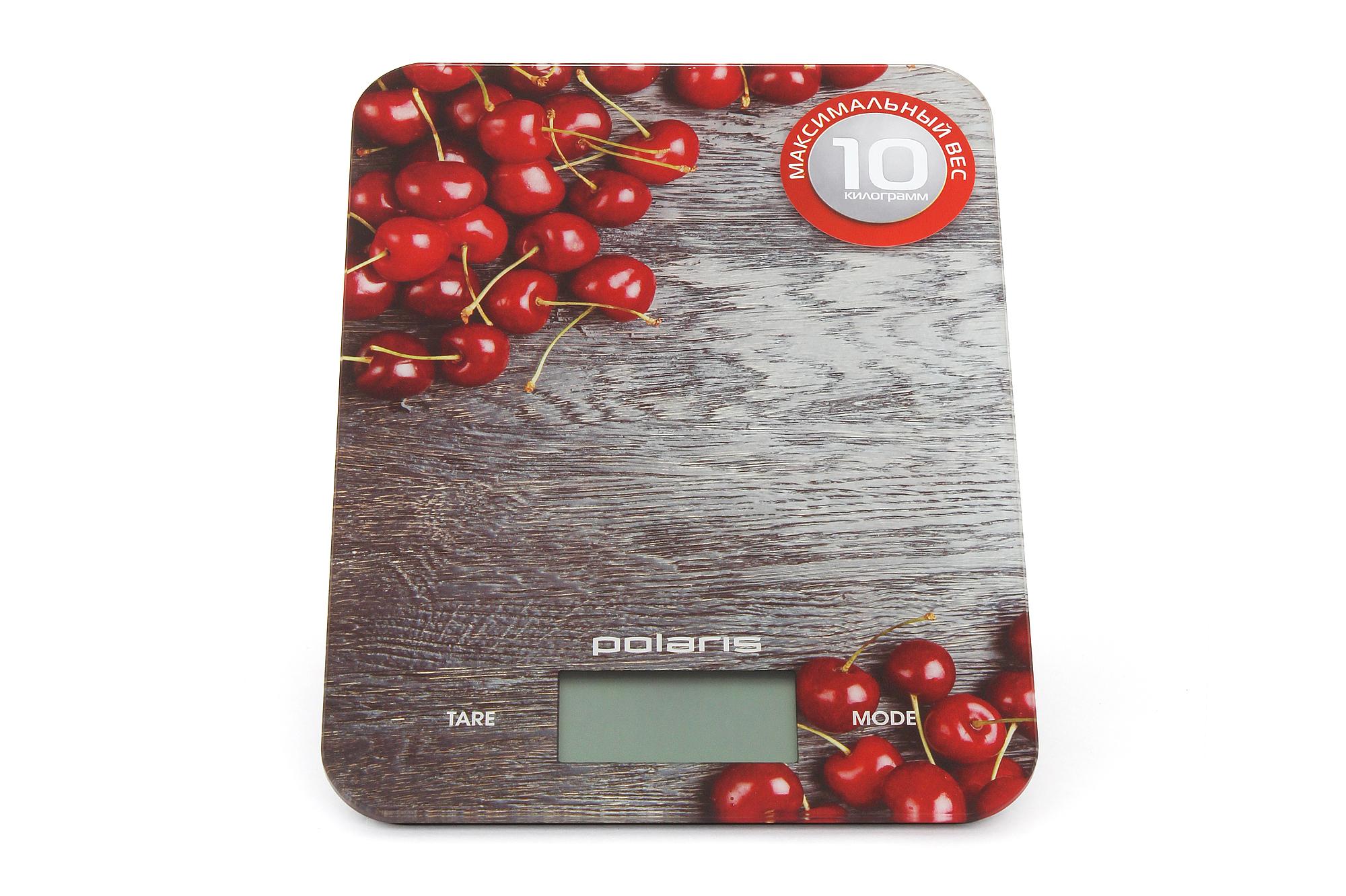 Весы кухонные POLARIS PKS 1046 DG Cherry
