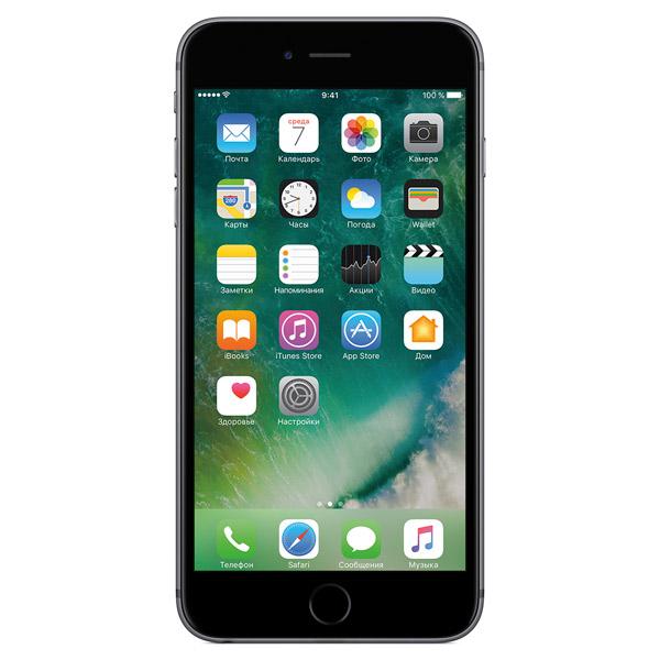Смартфон Apple iPhone 6 Plus 16Gb space grey FGA82RU/A восстановл