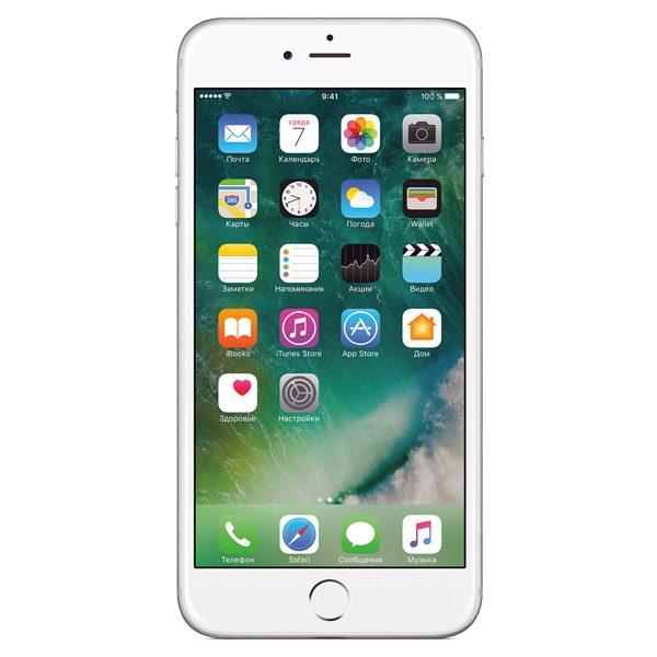 Смартфон Apple iPhone 6 Plus 64Gb silver FGAJ2RU/A восстановл